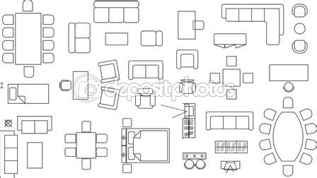 chair symbol floor plan 17 plan table and chairs vector images free floor plan