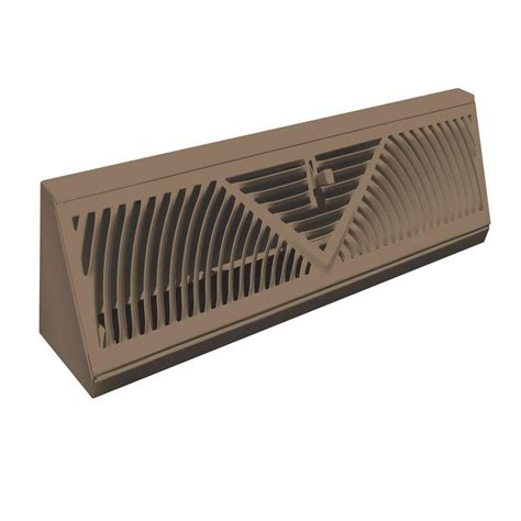 truaire 15 in baseboard diffuser supply h115sw the home