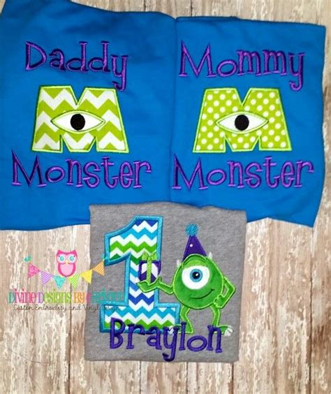 Kaos Monsters Inc 13 monsters inc birthday shirt with matching and shirts www