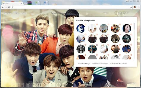 theme google chrome exo wolf exo wallpaper hd new tab themes chrome web store