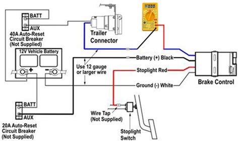 how to test trailer lights with a multimeter testing trailer brake magnets for proper function