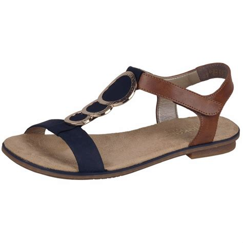 navy sandals rieker antistress alton 64278 16 navy and modern t