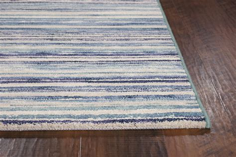 Reflections Area Rug by Kas Reflections 7423 Blue Horizons Area Rug