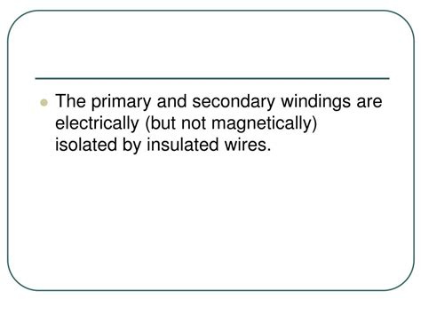 inductance between primary and secondary windings ppt x generator components powerpoint presentation id 297221