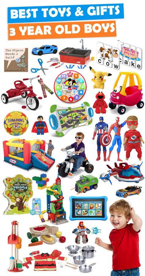 best gifts and toys for 3 year boys 2018 buzz