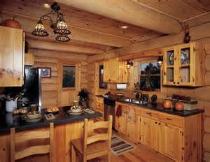 Log Kitchen Cabinets Log Cabin Kitchen Designs Kitchen Design Photos