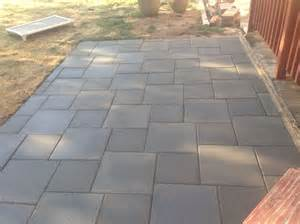 outdoor patio tiles concrete 25 best ideas about concrete pavers on patio