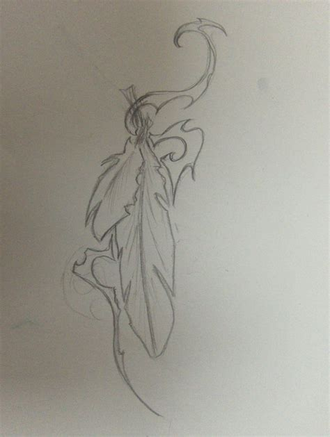 tattoo feather sketch feathers tattoo sketch i by tanith sacristar on deviantart