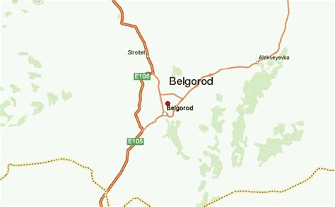 russia map belgorod belgorod location guide