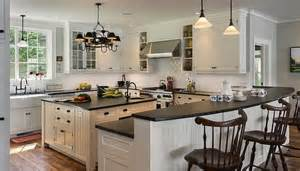 Design Ideas For Honed Granite Countertop Lake House By Crisp Architects Kitchens White Cabinets Lake Houses Architects