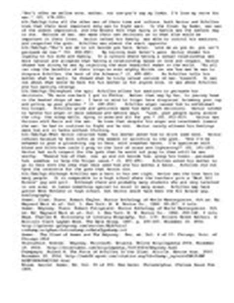 Achilles Vs Hector Essay hector vs achilles a contrast and compariso id 885920