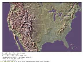 topographical map of united states gg 101 lab lessons