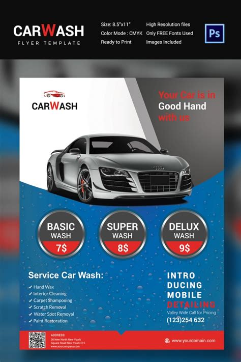 car flyer template car detailing flyer template pictures inspirational pictures