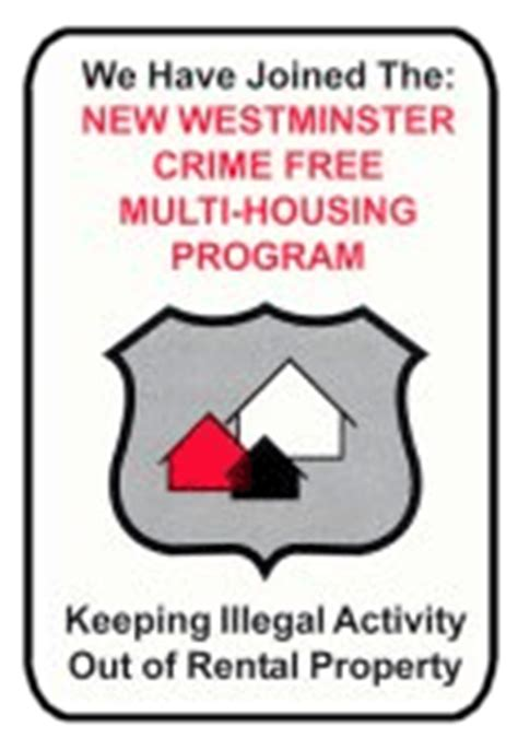 crime free multi housing cfmh new westminster police department