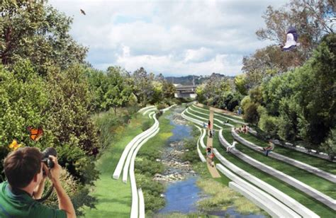 Los Angeles River Revitalization A City Rediscovers Its River City Landscaping
