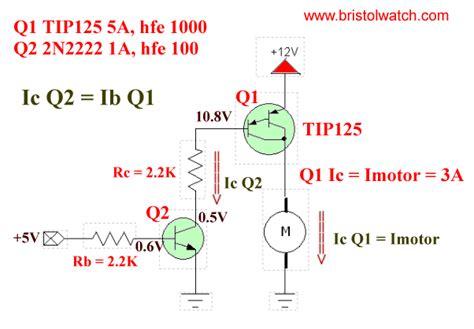 darlington transistor tutorial tutorial tip120 tip125 power darlington transistors
