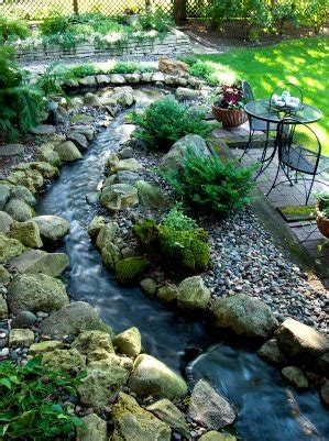 backyard stream ideas beautiful backyards inspiration for garden lovers the
