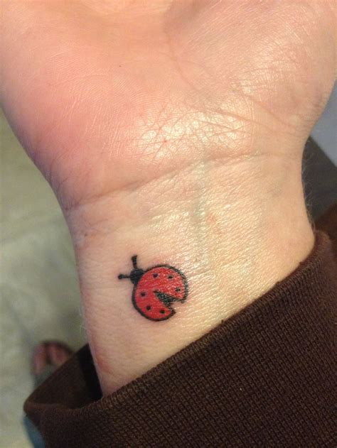 small ladybug tattoo 25 attractive ladybug tattoos on wrist