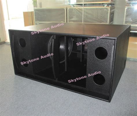 Speaker Subwoofer 18 skytone ts218 amazing power dual 18 quot subwoofer speaker box dj bass speakers buy dual 18