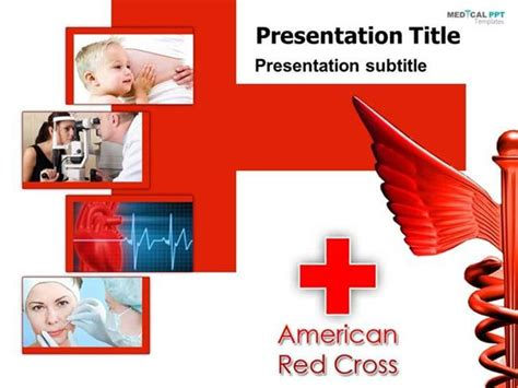 American Cross Card Template by American Cross Powerpoint Template Www