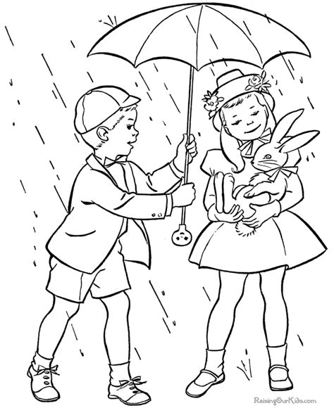free printable spring coloring picture 023