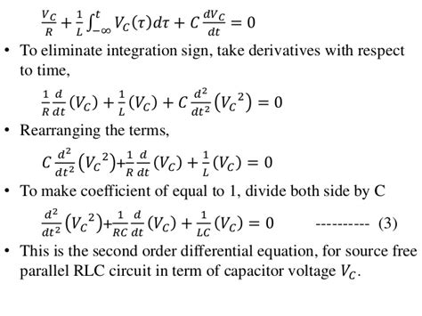 differential equation for voltage across a capacitor differential equation for voltage across a capacitor 28 images 2nd order circuits lecture
