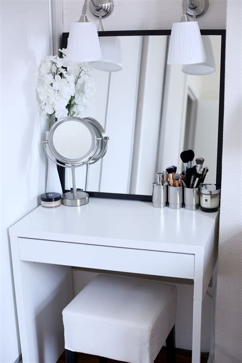 Makeup Vanity Ideas For Small Spaces Ma Coiffeuse