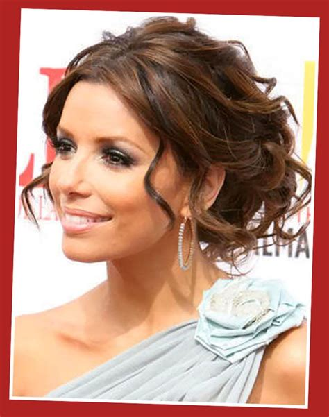 fashion forward hair up do eva longoria messy updos hairstyles wedding