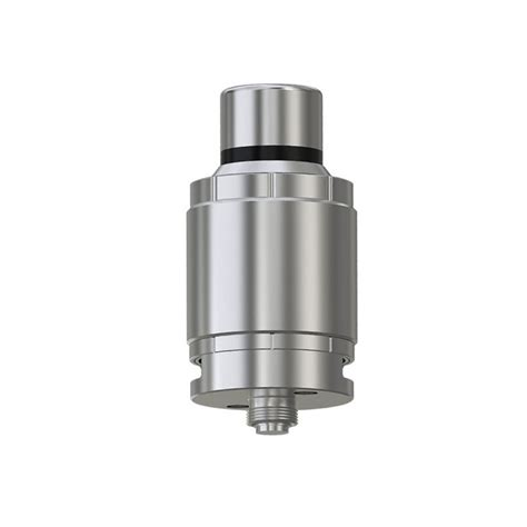authentic eleaf lemo drip rda 23mm silver rebuildable atomizer