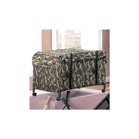 Camo Bunk Bed Coaster Bunk Bed Camouflage Boxes Chest Ebay