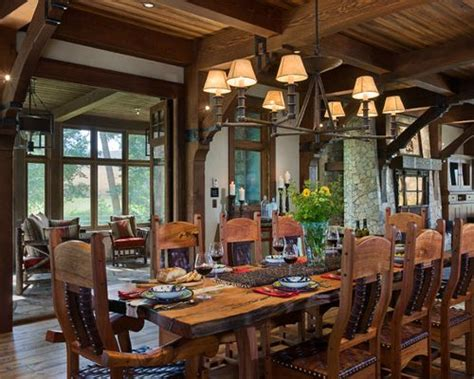 rustic dining room rustic dining room houzz