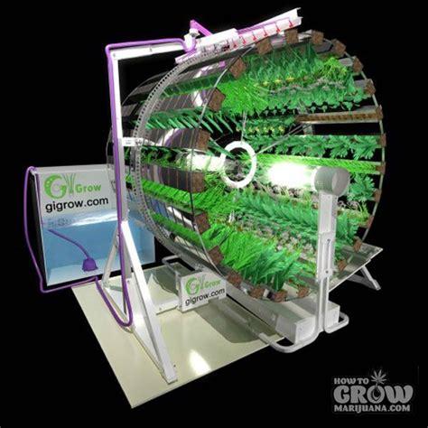best indoor garden system gi grow rotary hydroponics marijuana the farm