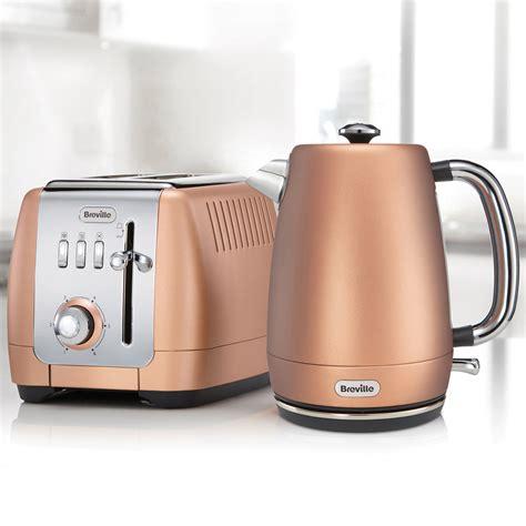Breville Toasters Breville Strata Luminere 1 7l Jug Kettle Rose Gold