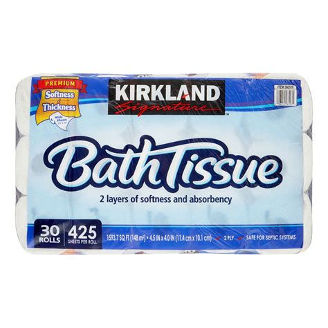 Who Makes Kirkland Signature Toilet Paper - kirkland signature toilet paper 30 rolls jet