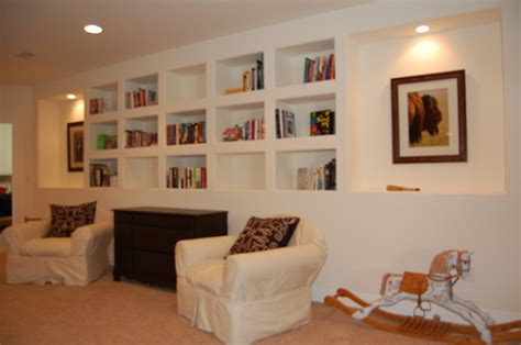 libreria a muro in cartongesso arredamento in cartongesso fotogallery donnaclick