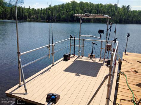 aluminum fishing boat upgrades pontoon boat restoration and railing upgrade