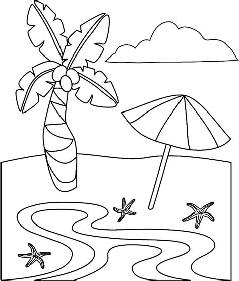 printable coloring pages beach free coloring pages of lighthouse beach