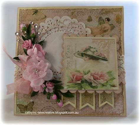 card shabby chic card cardlift shabby pinterest