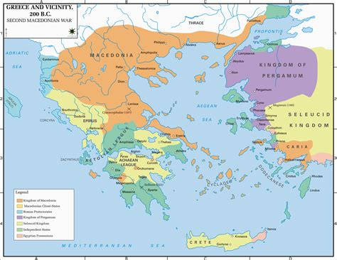 map of archaic greece map of greece and vicinity 200 bc maps of the ancient