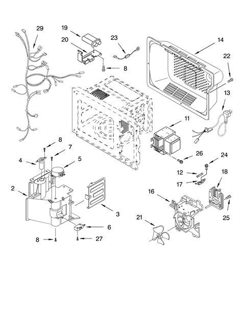 kitchenaid microwave parts diagram kitchen aid microwave parts bestmicrowave