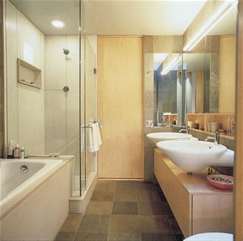 bathroom design idea streamlining tight spaces bathroom