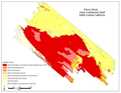 Interior Habitat Benthic Habitat And Geologic Mapping Of The Outer