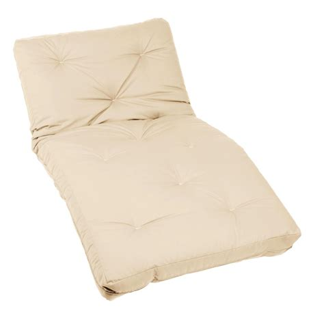 twin futon matress com mozaic twin size 10 inch futon mattress ivory
