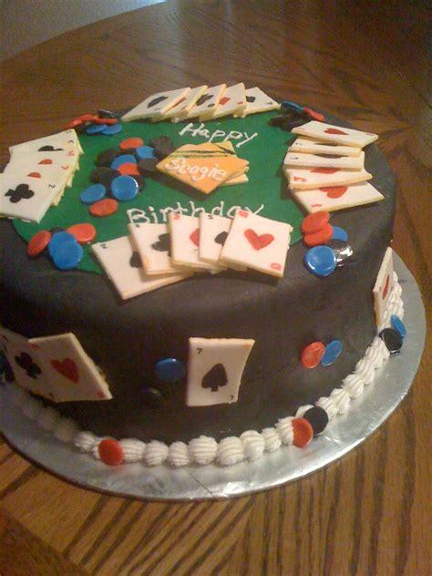 cake lady poker birthday party