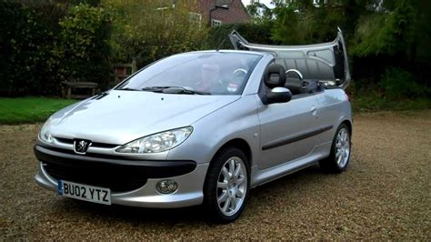 peugeot 206 convertible 02 02 peugeot 206 coupe 2dr hard top convertible for sale