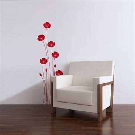 zazous wall stickers wall stickers poppies by zazous notonthehighstreet