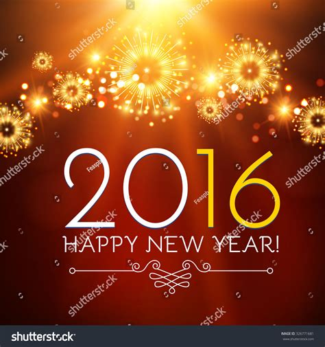 new year wishes vector happy new year seasons greetings colorful stock vector