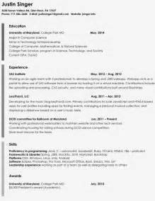 Resume Sles To Copy And Paste Copy And Paste Resume Template Free Resume Templates Wordpad Template Simple Format