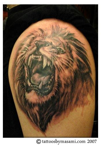 tattoo pictures of lions lion tattoos tattoosphoto