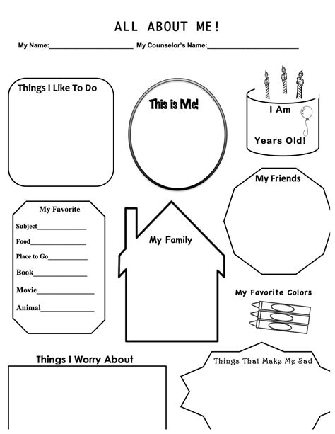 Cbt Worksheets For Children